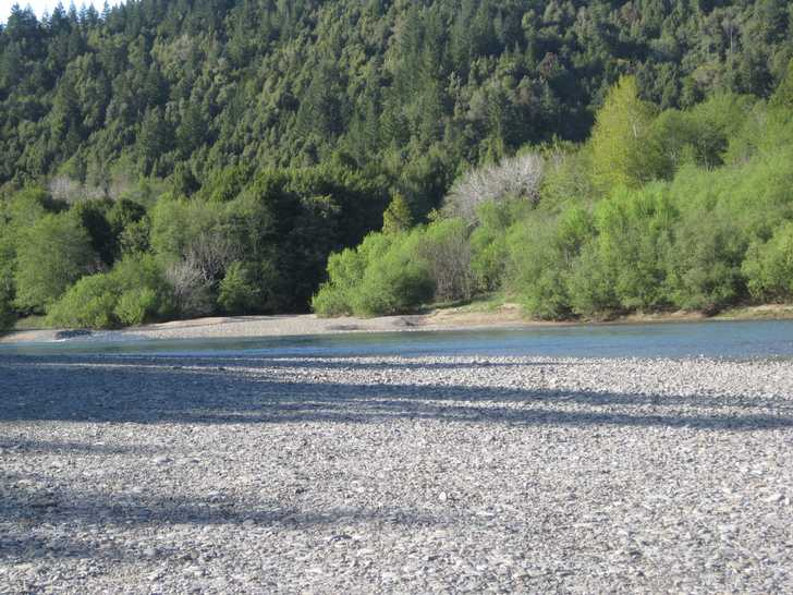 Loeb gravel bar on Chetco River