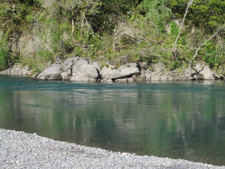 Chetco River emerald green