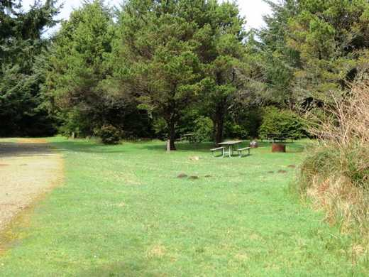 Cape Blanco group camp