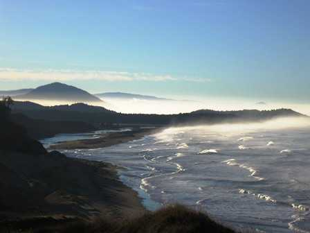 South View towards Humbug Mountain at Cape Blanco State Park