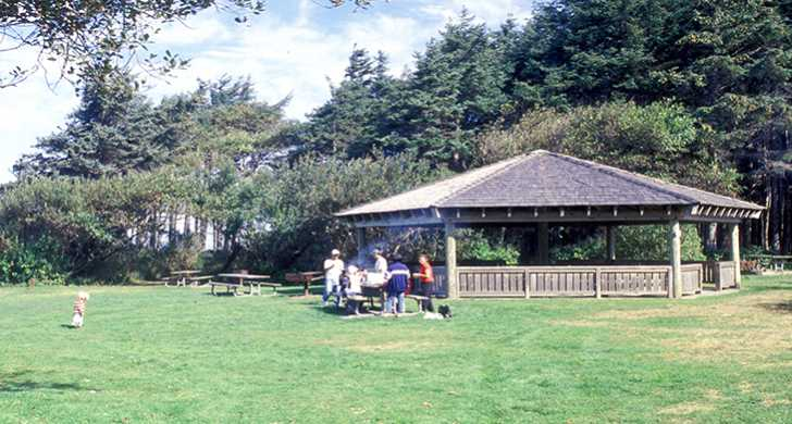 Cape Lookout picnic shelter