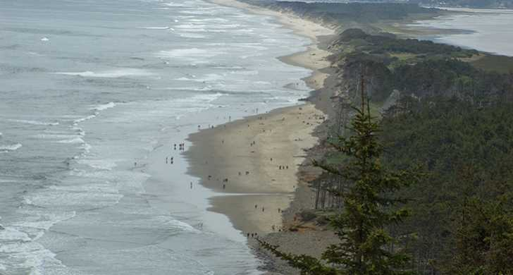 Cape Lookout scenic view