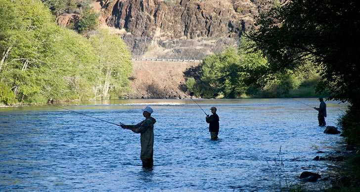 Fishing in the Rogue River