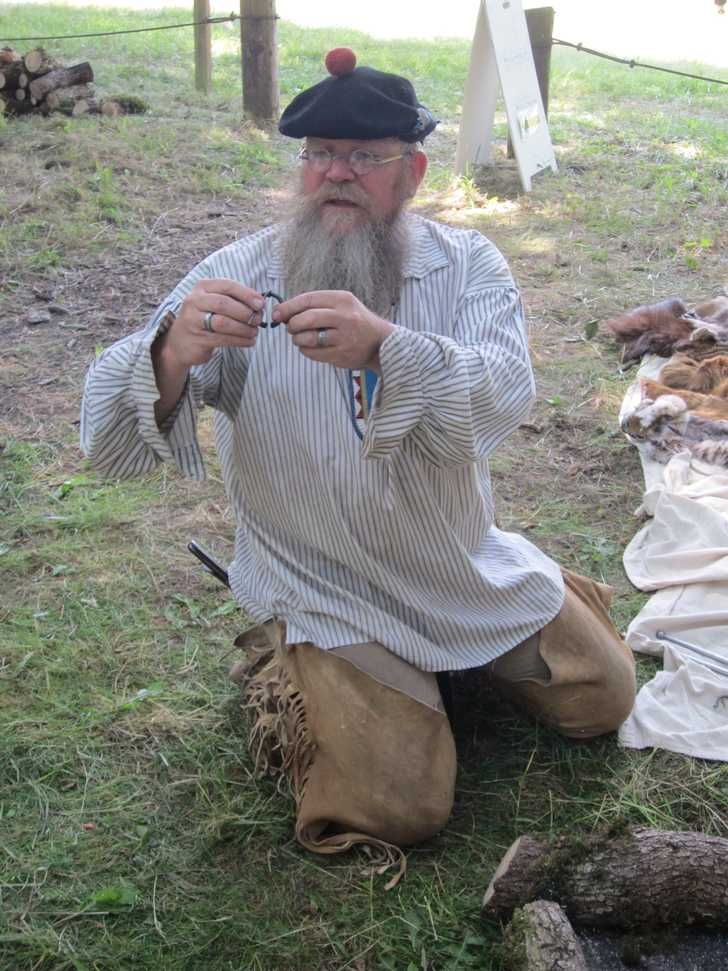 Fur Trapper Living History