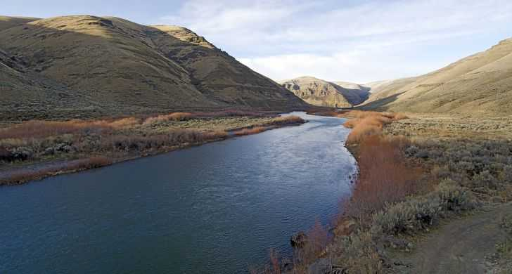 John Day River and canyon