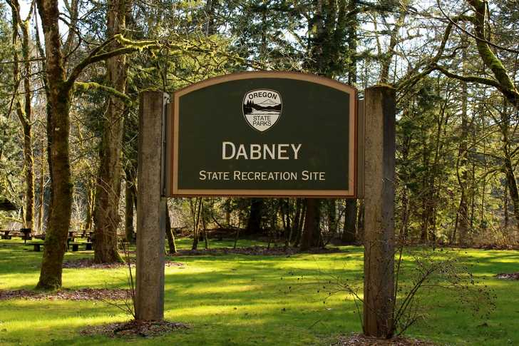 Dabney entry sign