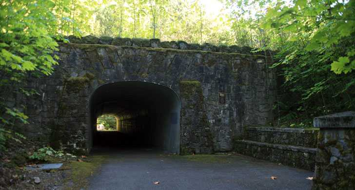 Trail underpass