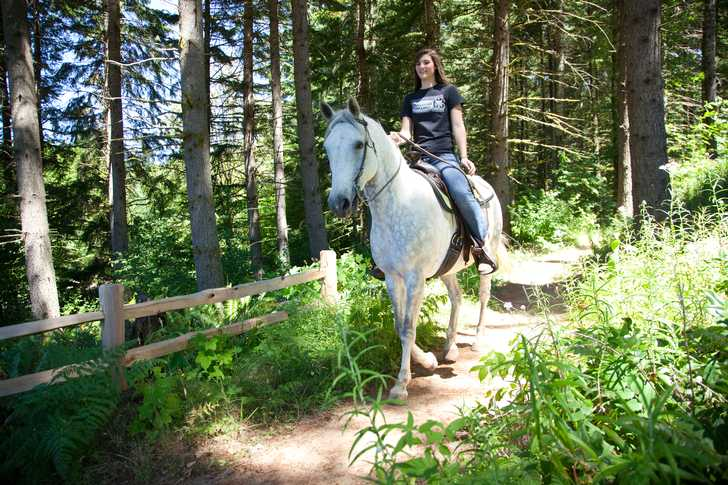 Ride your horse on the multi-use trails