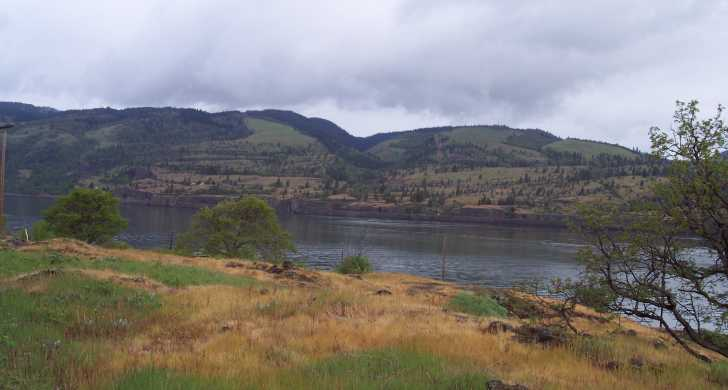 View of the Columbia River