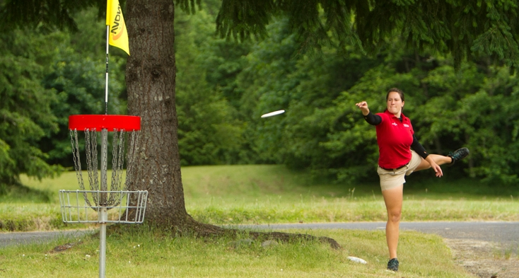The challenging Riverbend Disc Golf Course offers a healthy mix of difficulty for amateurs and professionals alike.
