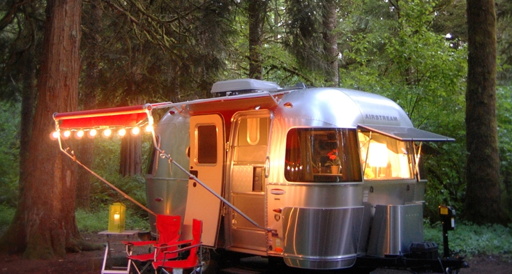 Milo McIver's campground features 44 electric sites with full hookups and 9 primitive tent sites.