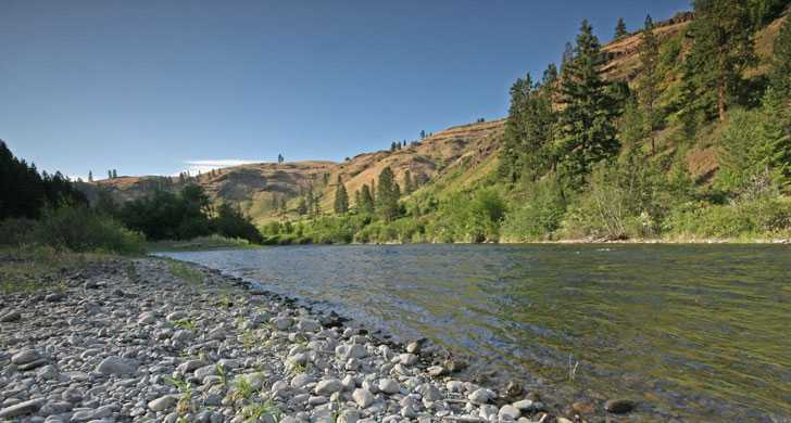 Wallowa River- below Minam Campground