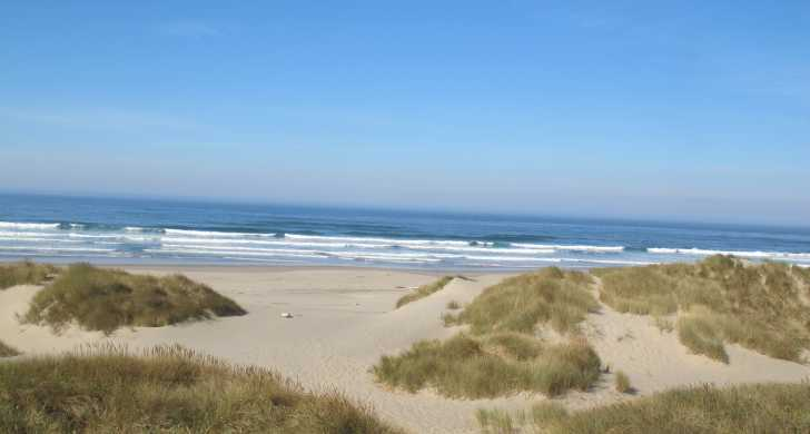 Beach at Nehalem Bay