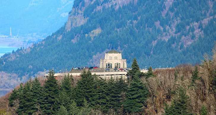 view of Vista House