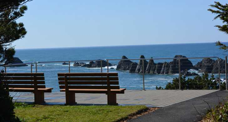 Benches at Seal Rock