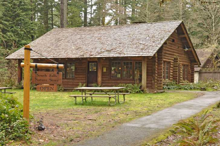 Silver falls state park oregon state parks and recreation for Oregon state parks yurts and cabins