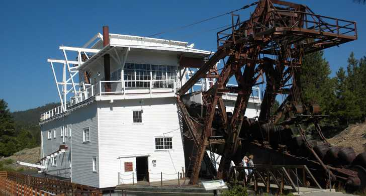 Sumpter Valley Dredge State Heritage Area - Oregon State Parks and