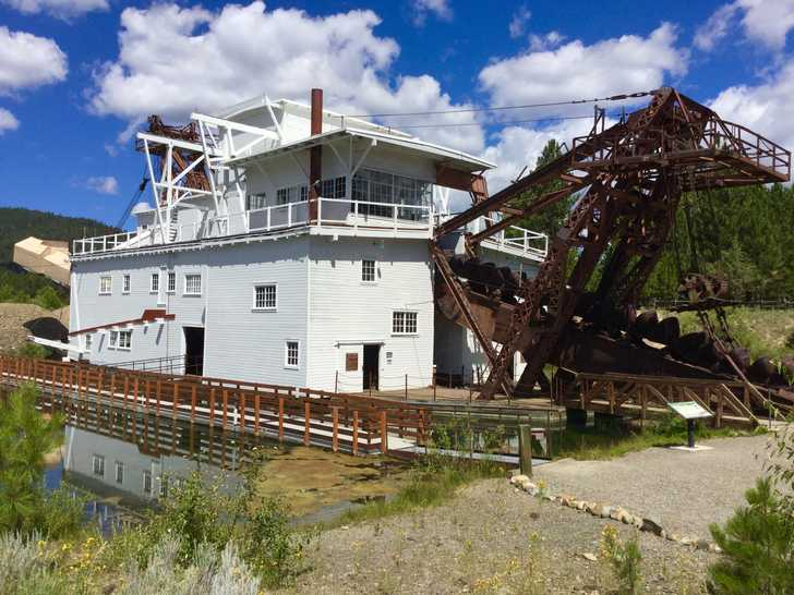 Sumpter Valley Dredge 2016