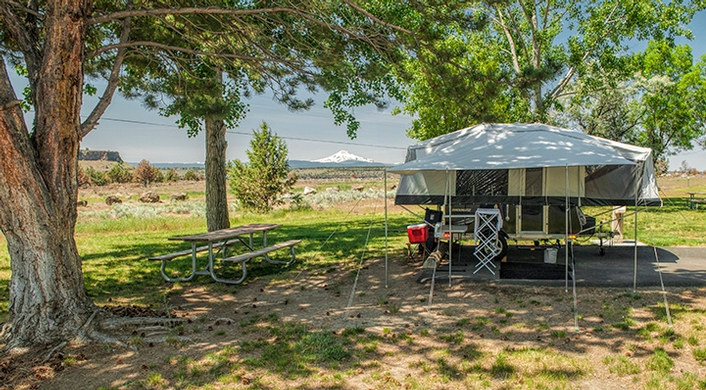 Crooked River campground