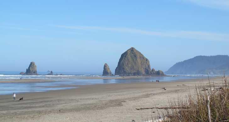 Tolovana Beach Haystack Rock