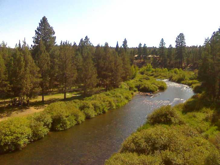 Deschutes River at Tumalo State Park