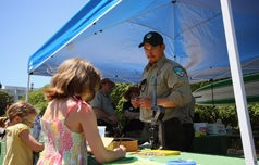 State Capitol State Park Pop-Up Ranger Station